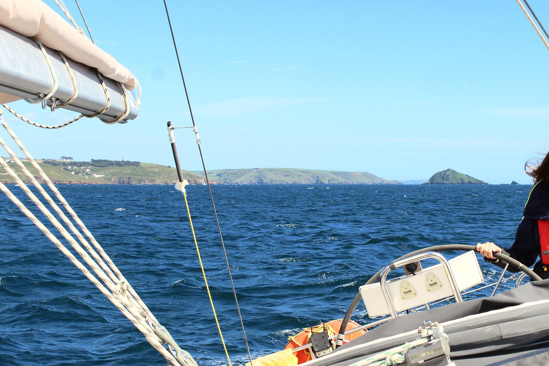 sailing plymouth sound liberty yachts